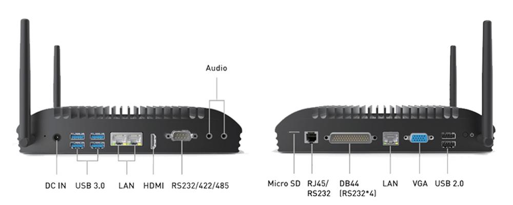 TB-5085 Box PC I/O