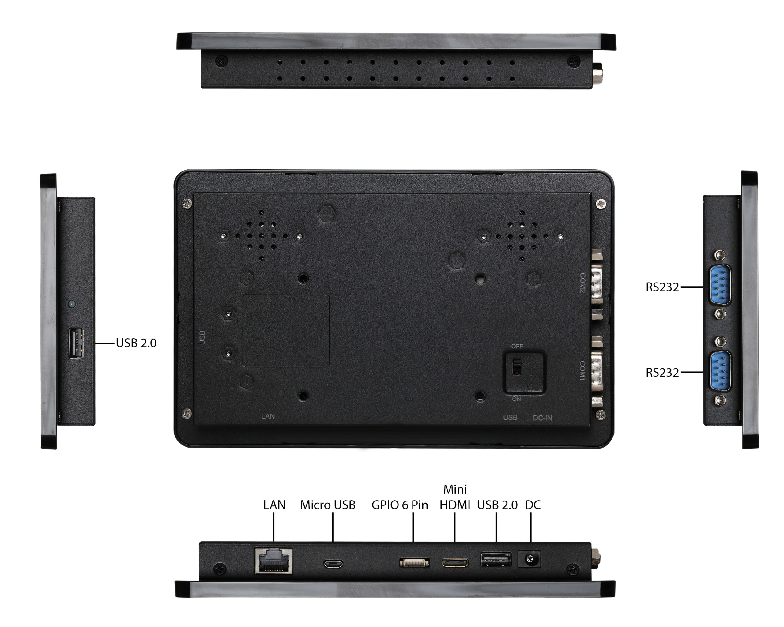 TP-A950-07 Inputs/Outputs