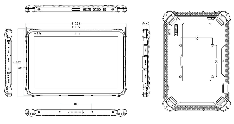 TRT-4380-12 Drawings