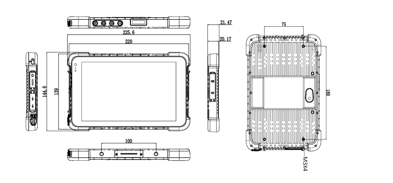 TRT-A5380-08 Tech Drawing