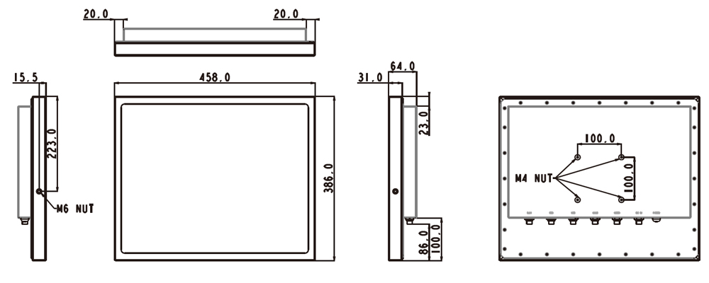 TS-5010-19 Technical Drawing