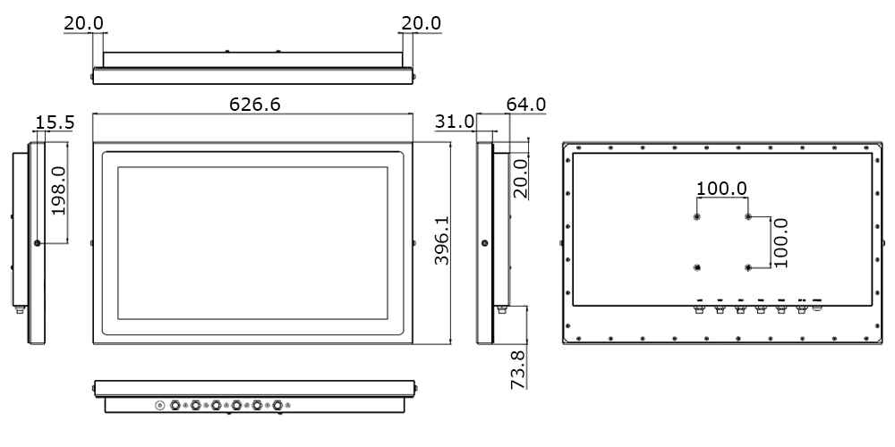 TS-5010-24 Technical Drawing