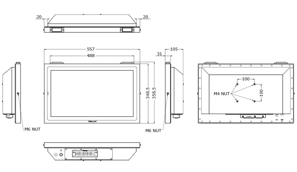 TSC-5010-22 Tech Drawing
