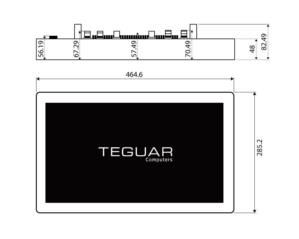 Technical Drawing TS-404-19 series
