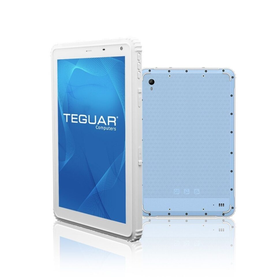 """10"""" Rugged Tablet in White   TRT-A5380-10S"""