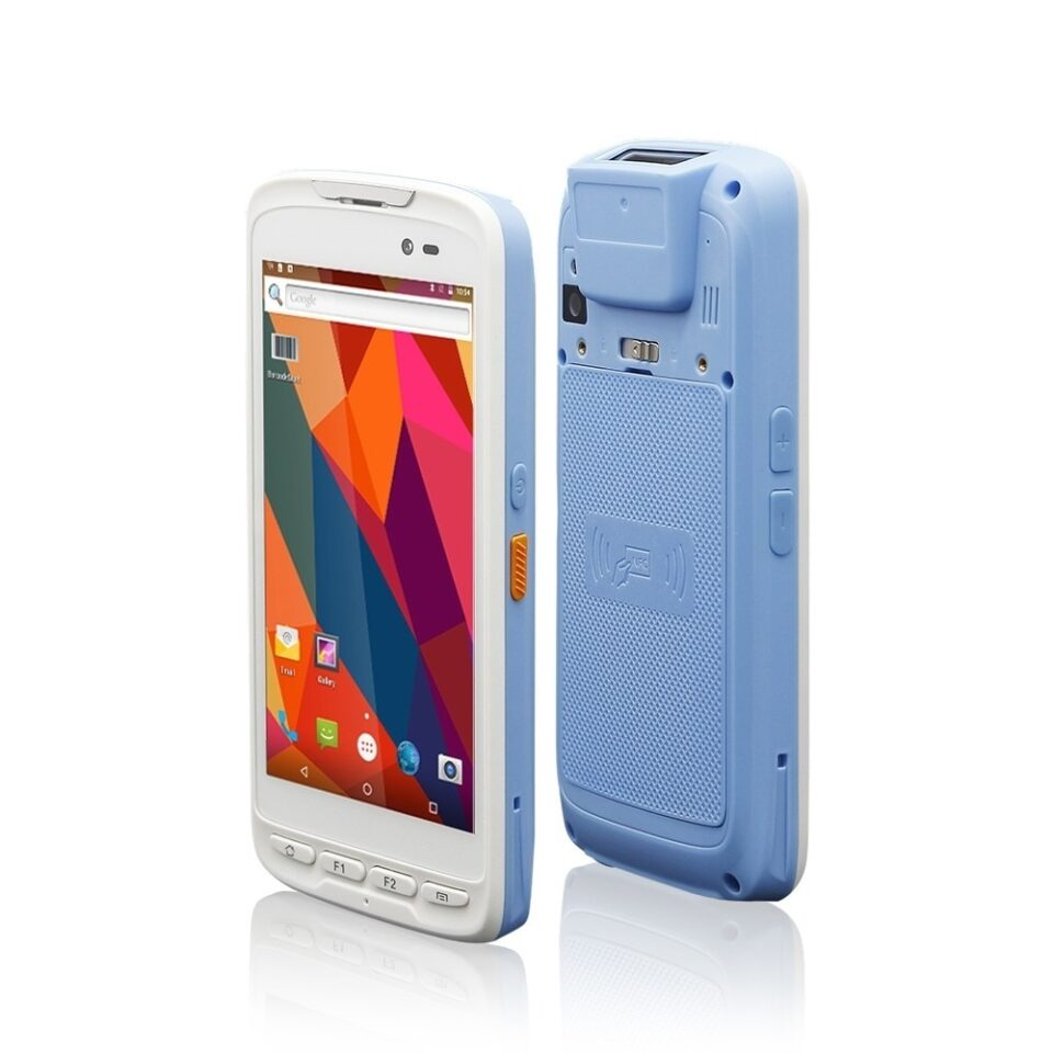 White Handheld Tablet for Healthcare