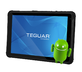 Teguar rugged tablet with Android
