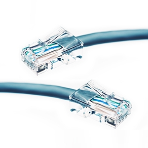 Two ethernet cables