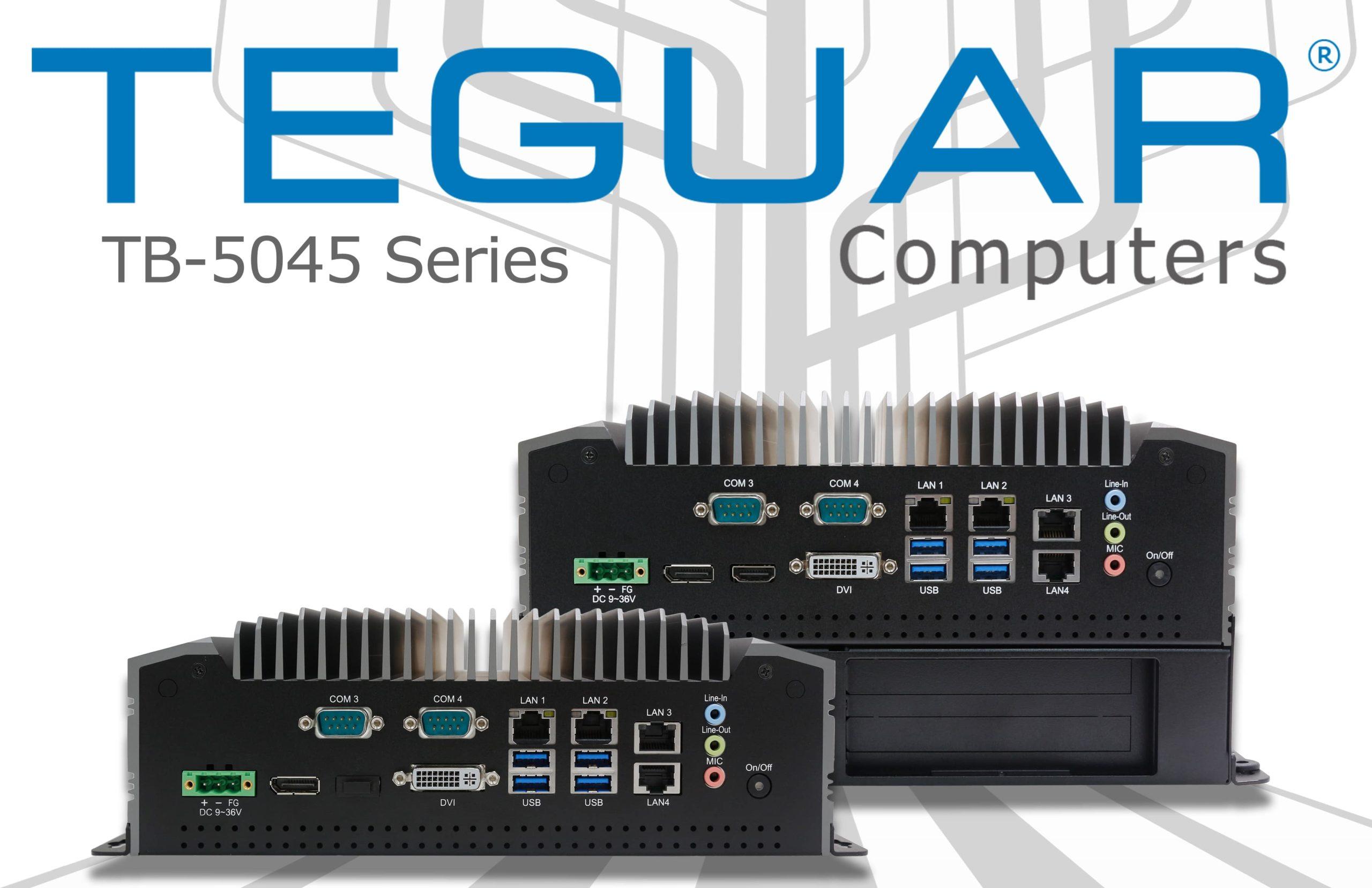 Teguar TB-5045 series fanless box computers