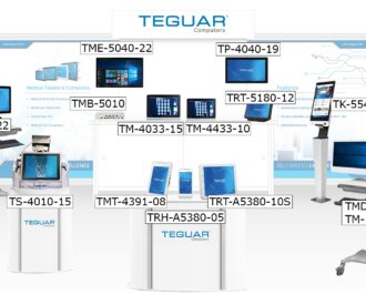Planned lineup of Teguar devices for HIMSS 2020