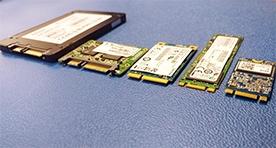 SSD computer storage types