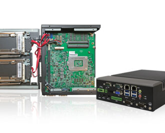 Disassembled Rugged Box PC TB-5545-MVS