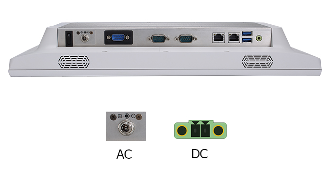 Teguar TM-4033-15 power input options