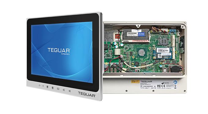 Interior of a TM-4433-10 medical computer