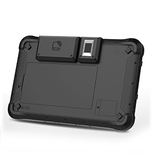 Back panel of Teguar TRT-Q5380-10 rugged tablet