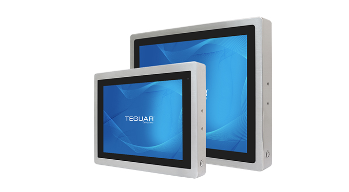 Two sizes of the Teguar TSD-45 series of computers