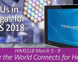 Join Teguar in Las Vegas for HIMSS 2018