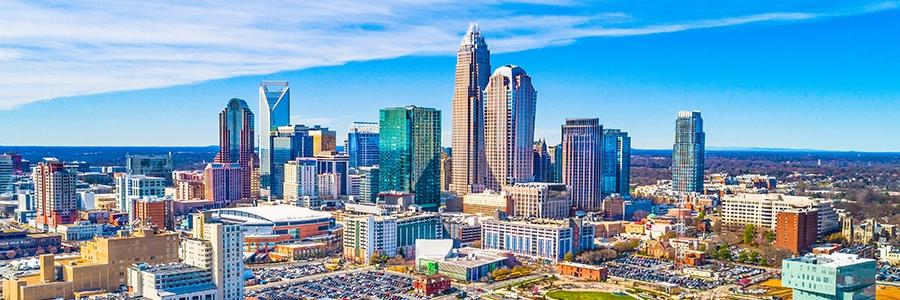 Charlotte, NC sky line