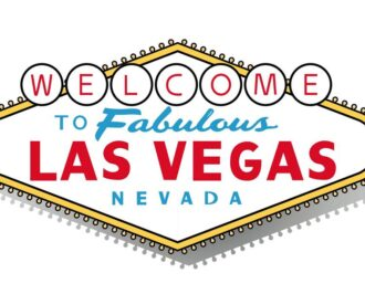 Famous sign that says Welcome to Fabulous Las Vegas Nevada