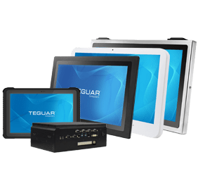 Five previous generation products from Teguar Computers