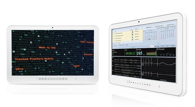 Two Teguar TM-5010 medical computers