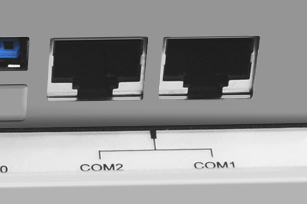 Two RJ-11 COM Ports on an Industrial Computer