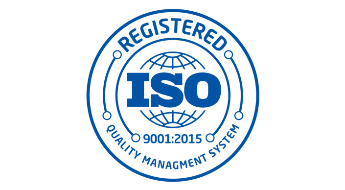 ISO Logo and seal for Teguar's Quality Management System
