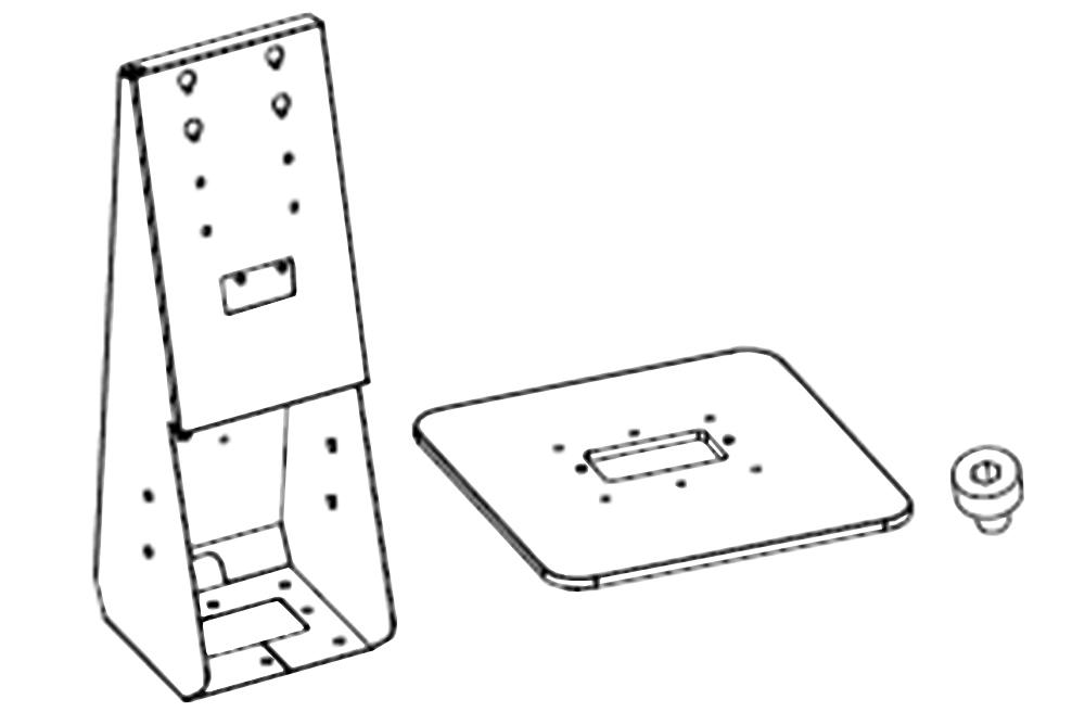 Desktop Stand Drawing