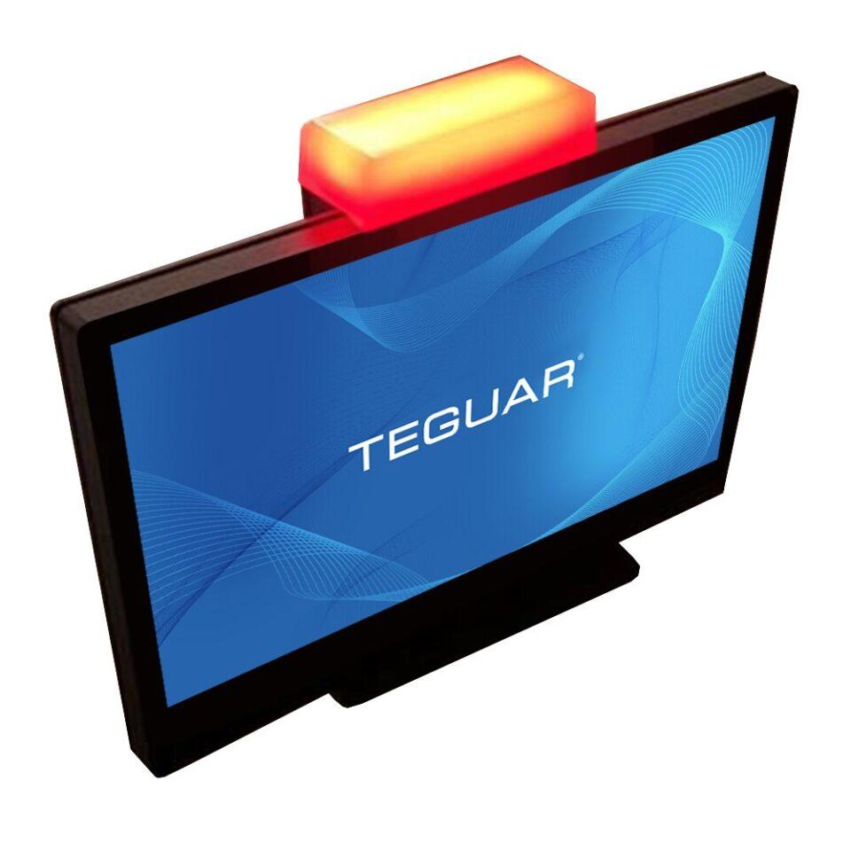 Teguar Kiosk computer with light module