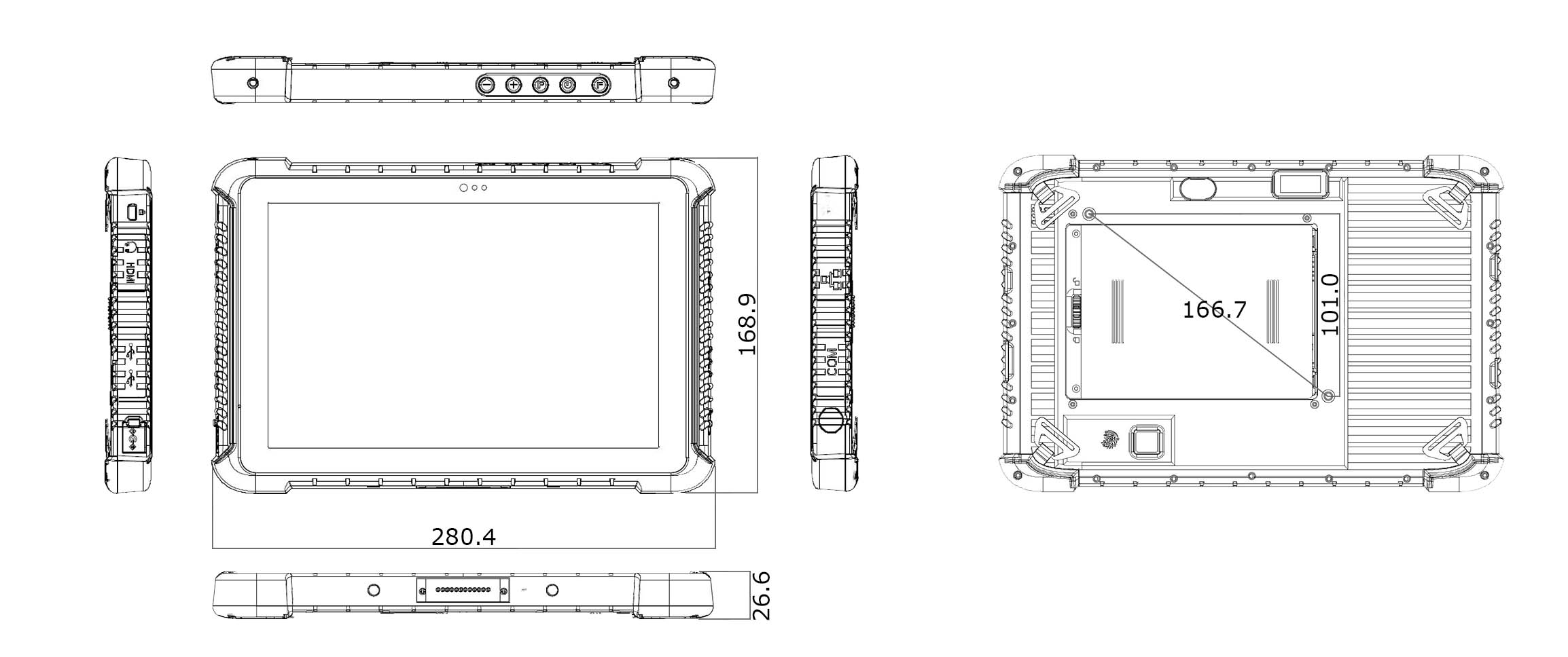 TRT-Q5380-10 technical drawing