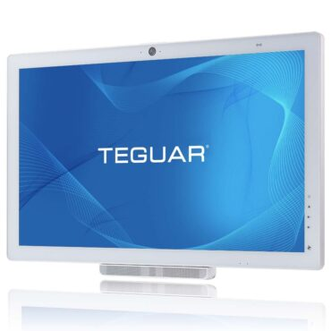 Teguar TM-5900-24 High Performance Medical Computer angled view