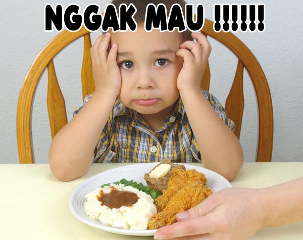 Tips Saat Anak Susah Makan