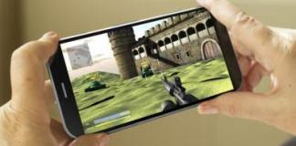 Smartphone Android Gaming
