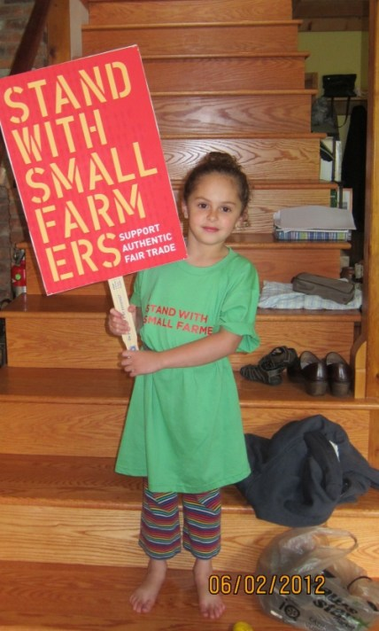 Stand with small farmers photo