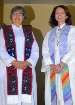 Co-pastors, Karen & Nancy