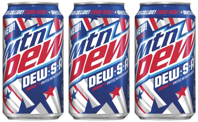 mountain dew and the