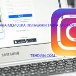 4 Cara Mudah masuk Instagram tanpa Aplikasi Android