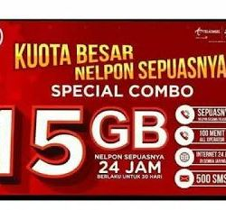 kuota combo telkomsel 15 GB hilang