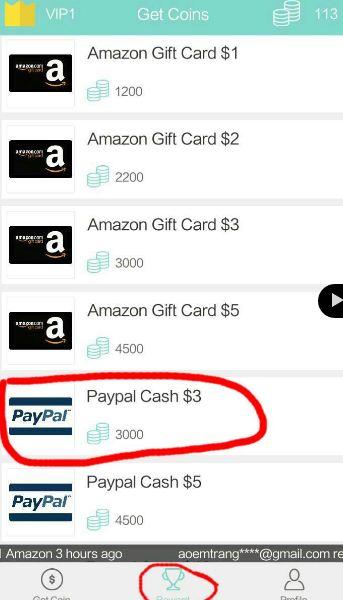 penarikan Cash gift apk  terbaru