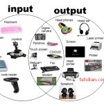 8 Macam Perangkat Input dan Output Pada komputer Lengkap dengan Pengertiannya