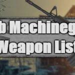 Mengenal Senjata Sub machine Gun Free fire Peluru dan Kombinasi Paling sakit