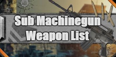 kombinasi Senjata sub machine gun free fire menyakitkan