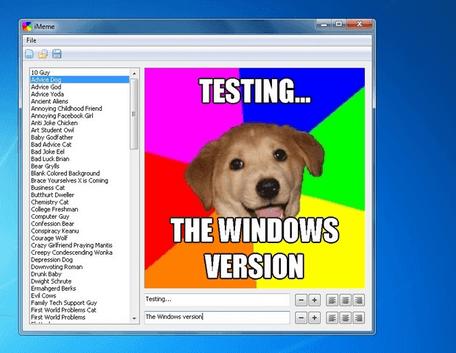 software pembuat meme di komputer