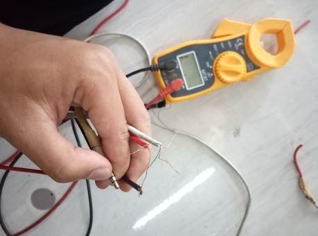 3 kabel yang akan disambung