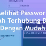 Cara mengetahui Password Wifi di Laptop paling ampuh