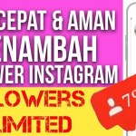 Cara menambah follower instagram dalam waktu singkat terbukti 100%