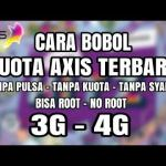 Cara bobol pulsa Axis lewat HP android Work 100%