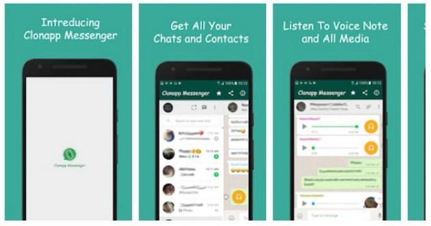 cara kerja clonapp messenger