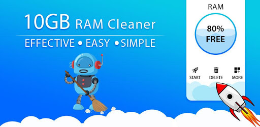 Cleaner ram 10Gb