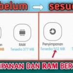 Aplikasi penambah ram hp gratis Root dan No root paling ampuh